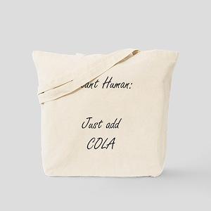 instant human cola Tote Bag