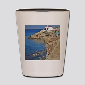 Seascape Mykonos Shot Glass