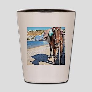 Single Horse Shot Glass
