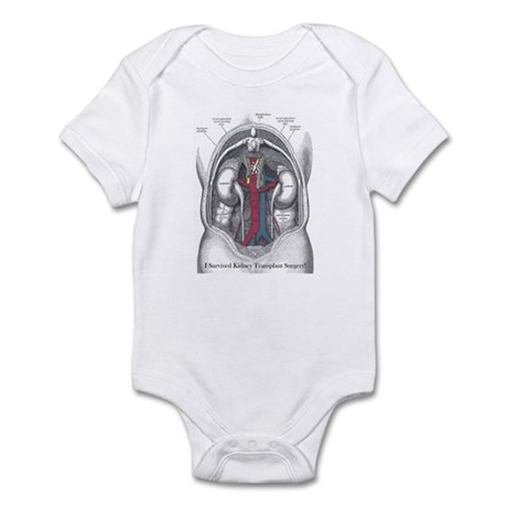 I Survived Kidney Transplant Infant Bodysuit
