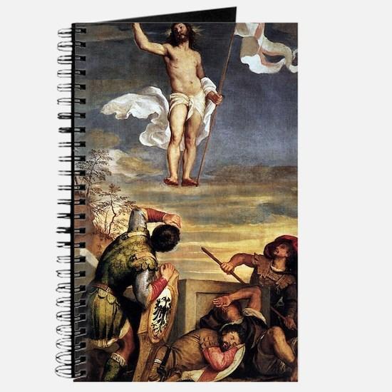 The Resurrection - Titian - c1542 Journal