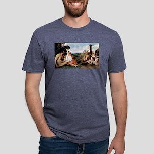 The Three Ages of Man - Titian - c1512 Mens Tri-bl