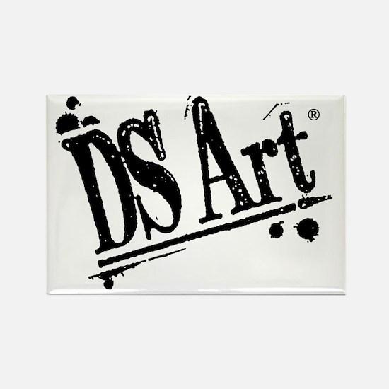 DS Art logo Rectangle Magnet