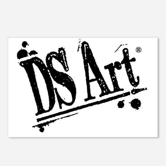 DS Art logo Postcards (Package of 8)