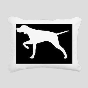 pointerhitch Rectangular Canvas Pillow