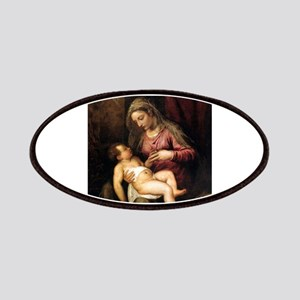 Virgin and Child - Titian - c1560 Patch