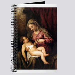 Virgin and Child - Titian - c1560 Journal