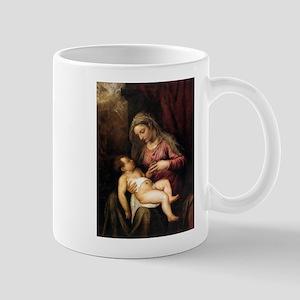 Virgin and Child - Titian - c1560 11 oz Ceramic Mu