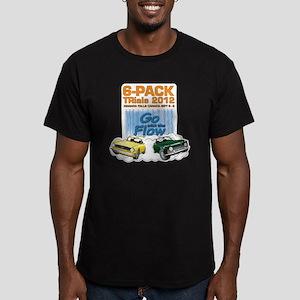 6-Pack TRials 2012 Men's Fitted T-Shirt (dark)