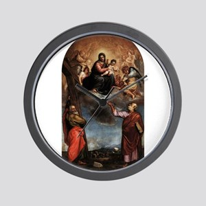 Virgin and Child with Saints 2 - Titian - c1542 Wa