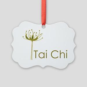 Tai Chi Heart Picture Ornament