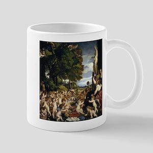 Worship of Venus - Titian - 1518 11 oz Ceramic Mug