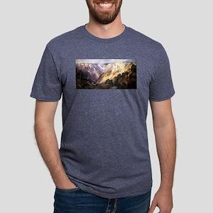 Grand Canyon of the Yellowstone - Thomas Moran - c