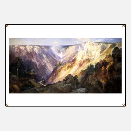 Grand Canyon of the Yellowstone - Thomas Moran - c
