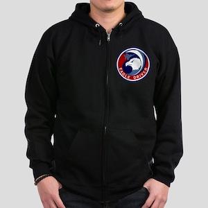F-15 Eagle Zip Hoodie (dark)