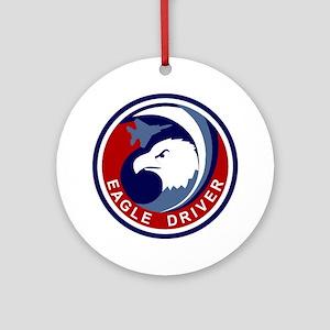 F-15 Eagle Round Ornament