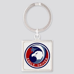 F-15 Eagle Square Keychain