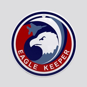 F-15 Eagle Keeper Round Ornament