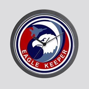 F-15 Eagle Keeper Wall Clock