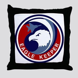 F-15 Eagle Keeper Throw Pillow