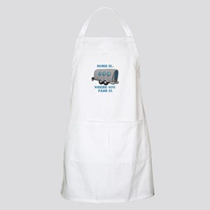 Home is Where You Park it (Trailer) BBQ Apron