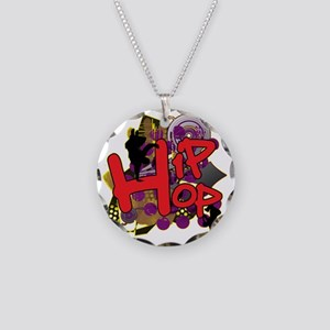 HIP HOP YO Necklace Circle Charm