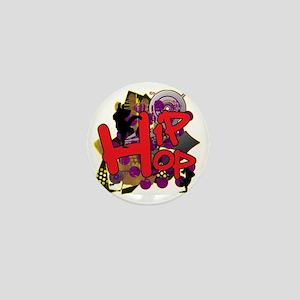 HIP HOP YO Mini Button