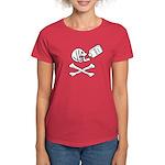 Time Flies, Having Rum Women's Dark T-Shirt