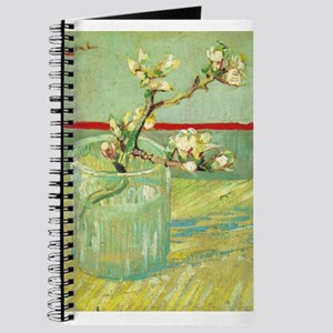 Blossoming Almond Branch in a Glass - Van Gogh - c