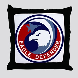F-15 Eagle Defender Throw Pillow