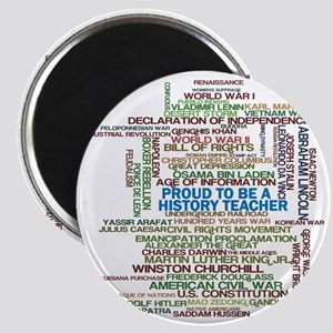 Proud History Teacher Magnet