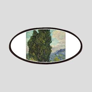 Cypresses - Van Gogh - c1889 Patch