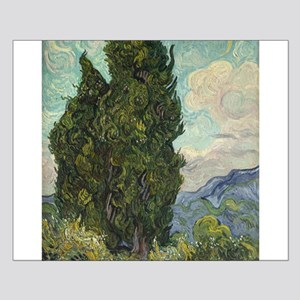 Cypresses - Van Gogh - c1889 Small Poster