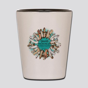 Deva-Arts logo Shot Glass