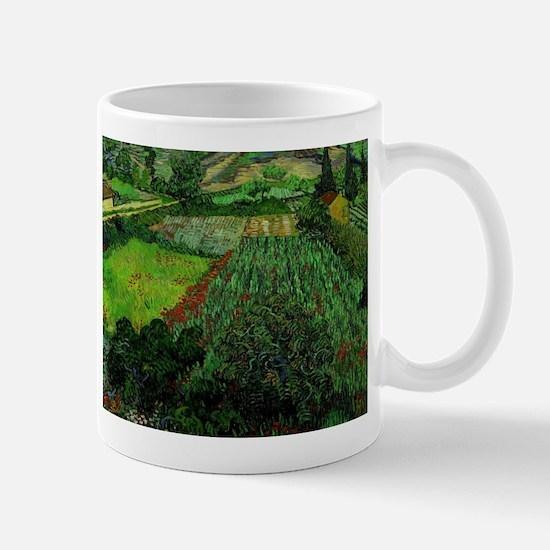 Field with Poppies - Van Gogh - c1889 Mug