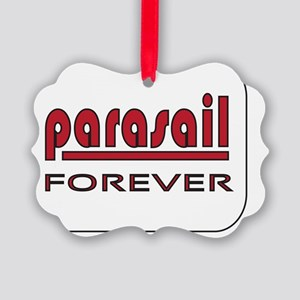 Parasail Forever Picture Ornament