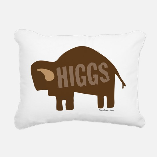Higgs Bison Rectangular Canvas Pillow