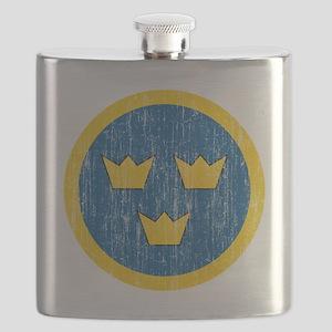 Sweden Roundel Aged Flask