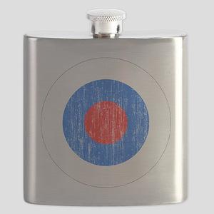 Slovenia 2 Roundel Aged Flask