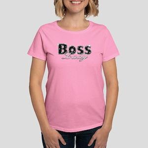Boss Lady Bling Women's Dark T-Shirt