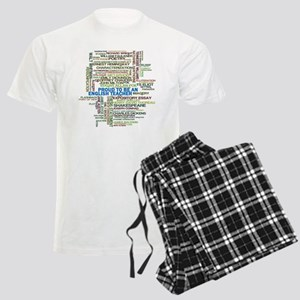 Proud English Teacher Men's Light Pajamas