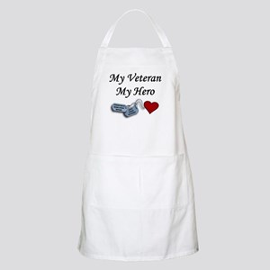 My Veteran My Hero Dog Tags BBQ Apron