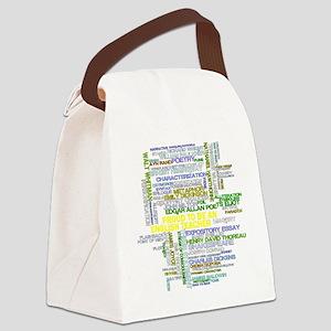 Proud English Teacher Canvas Lunch Bag