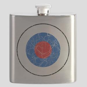 Slovenia Roundel Cracked Flask