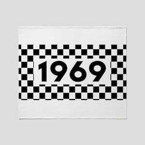 Ska 1969 Throw Blanket
