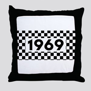 Ska 1969 Throw Pillow