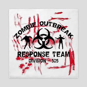 Zombie Response Team Queen Duvet