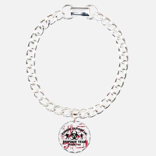 Zombie Response Team Charm Bracelet, One Charm