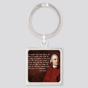 Samuel Adams Square Keychain