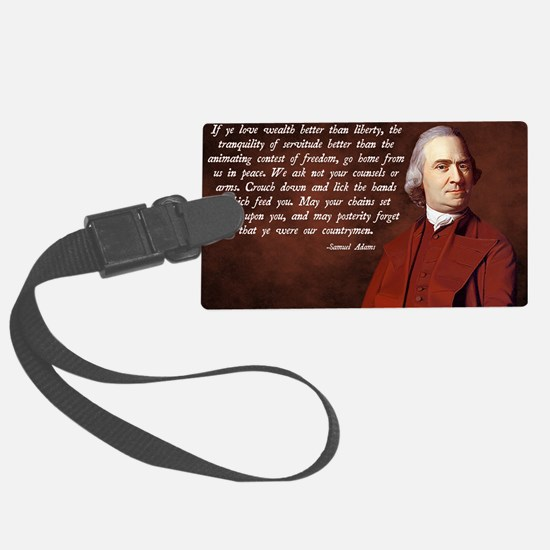 Samuel Adams Luggage Tag